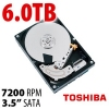 HDD 3.5-Inch 7200RPM 128MB Cache 6.0TB